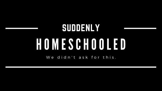 Suddenly Homeschooled